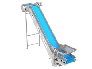 PPM Technologies - flat incline conveying belt