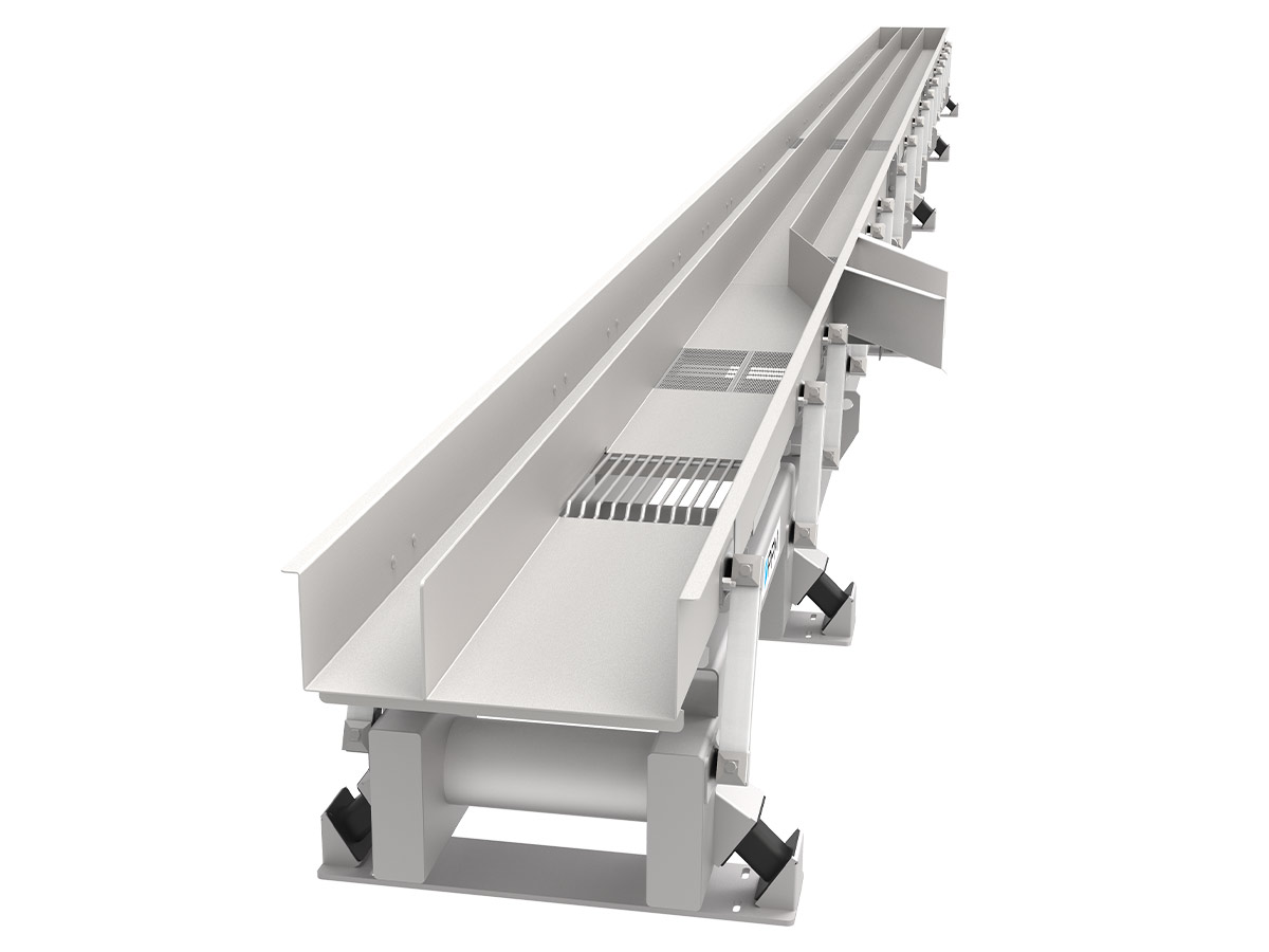 PPM Technologies - LBL with lane dividers, conveying