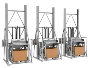 PPM Technologies - Material Handling overview photo of tote dumpers
