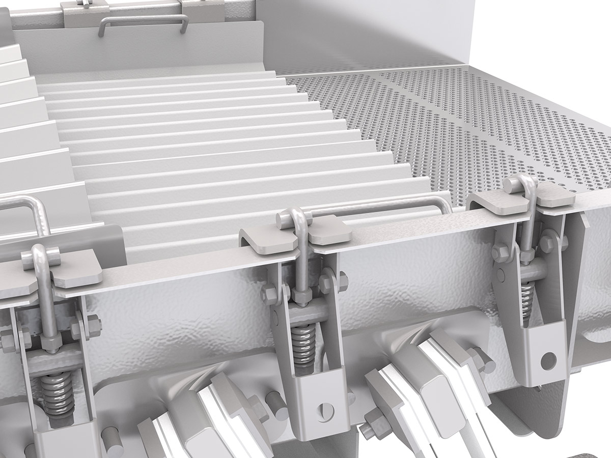 PPM Technologies - ultra clamp screens, detail photo