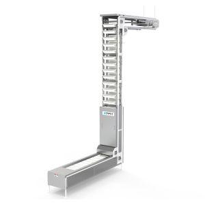 PPM Technologies - S shaped bucket elevator, material handling