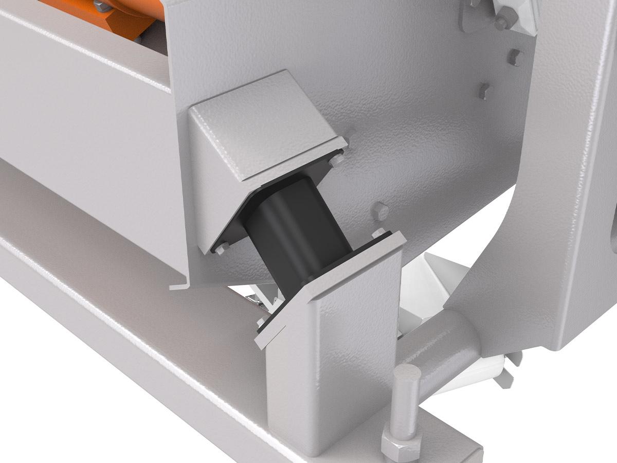 PPM Technologies - rubber isolator, detail photo