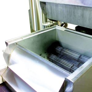 PPM Technologies - electrical heating option for fryer with pan removed, detail photo