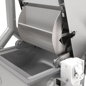 PPM Technologies - rotary gas fryer wheel detail photo
